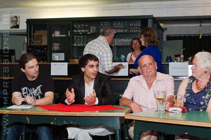 Café Parlé 2013 Aalsters Literair BonTgenootschap De Nieuwbeek